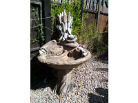 water feature/bird bath