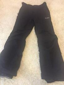 2 x Ski trousers 11-12 years/146-152cm