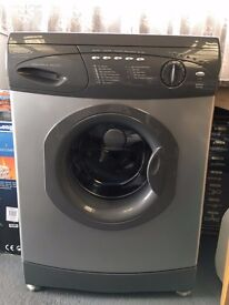 HOTPOINT WASHING MACHINE 1100 SPIN & TROLLEY ON WHEELS & VERY COMFY COMPUTER CHAIR