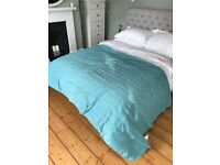 IKEA kingsize reversible bedspread