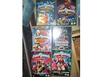 9 Power Rangers DVD