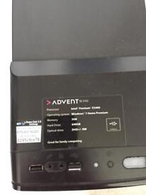ADVENT OFFICE PC 640GB HARD DRIVE ONLY £45