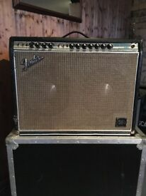FENDER TWIN REVERB - 1969 SILVERFACE - JBL SPEAKERS