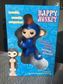 Brand new Fingerlings monkey (BLUE)!!! Best gift, Best price. 70 pcs available!!!