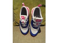 Pink & blue Nike trainers