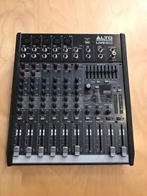 Alto live 802 USB mixer