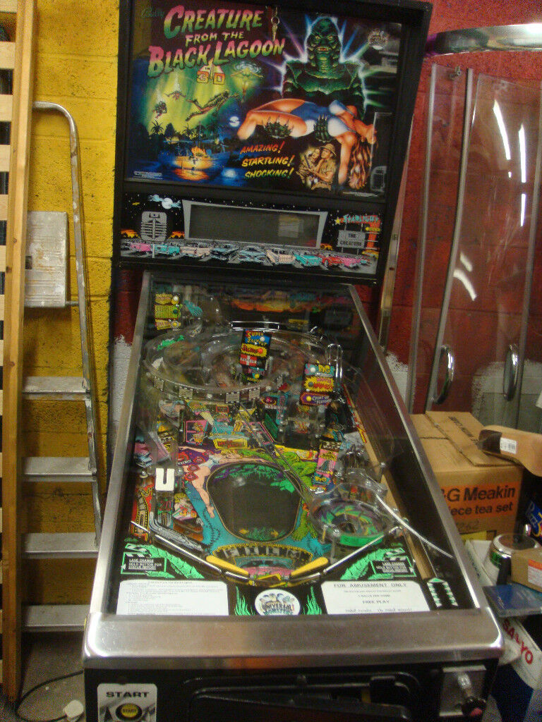 WANTED FULL SIZE ARCADE PINBALL FLIPPER