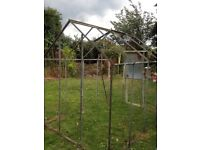 large greenhouse house frame