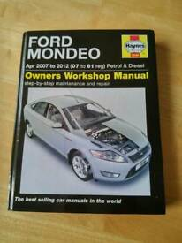 Ford mondeo manual