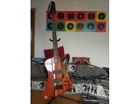 Epiphone Thunderbird Pro IV Bass + Trace Elliot Boxer 65 amp