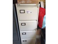 Steel metal filing cabinet 4 drawers A4