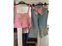 BNWT Designer bettlejuice girls outfit age 3-4 new