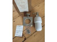 Bathstore Soap Dispenser x 2 - brand new