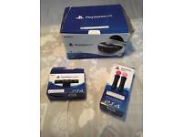 PlayStation VR bundle, camera, x2 motion sensors