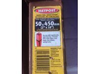 Metposts - 50mm x 450mm