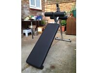 Body Solid Ab Pro Sit up bench near new quality