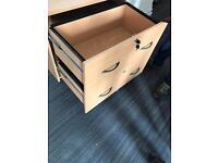Wide Wooden Filing/ Storage Cabinet