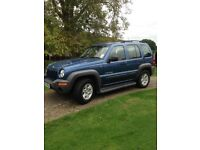 Jeep Cherokee CRD 2.5 2004 One owner