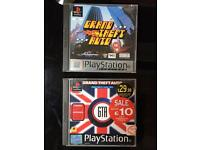 Grand Theft Auto and add on pack. PlayStation Game