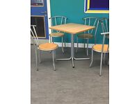 Table & chairs, chairs, tables