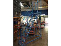 10 Steps Warehouse ladder