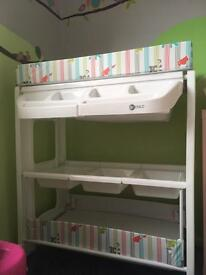 My child peachy changing station
