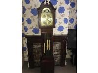 Grandfather clock, triple chimes