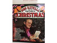 Christmas theme Vinyl 12 inch LPs, artists include choirs and Don Estelle, vgc