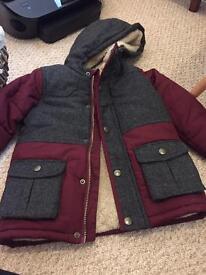 Brand new boys coat 3-4 years