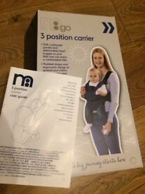 Mothercare 3 position baby carrier in very good condition