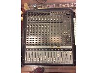 Mixing desk- Mackie onyx 1612- 16 ch, with firewire interface
