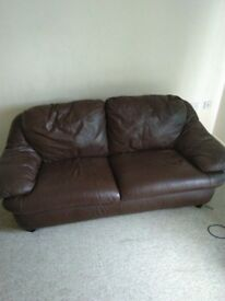 Two seat sofa. In very good condition. Owner leaving the country