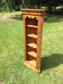 Beautiful old antique pine corner unit