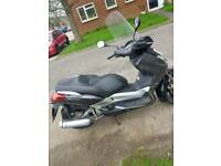 Yamaha Xmax 250 registered as 125