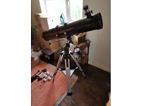 Skywatcher 130 EQ2 telescope