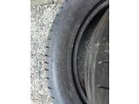 Part worn tyre tyres 235/50/18