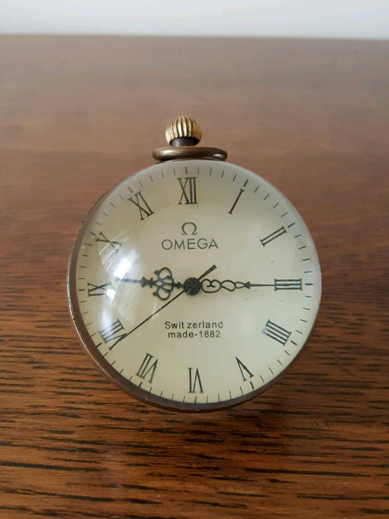 Vintage Omega Desktop Clock In Downham Market Norfolk