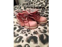 Size 9 Pink Timerland Boots
