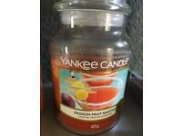 Yankee candle half full