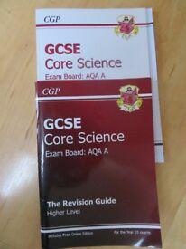 CGP GCSE CORE SCIENCE REVISION GUIDE