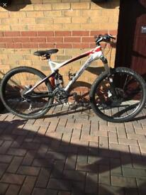 Full Suspension Lapierre Mountain bike
