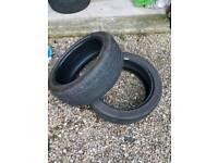 X2 225 45 19 part worn tyres.