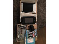 Nintendo Wii U Console, 32GB Premium Black Mario Kart 8, Boxed (including Super Mario 3D World)