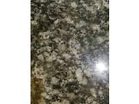 Granite black worktop