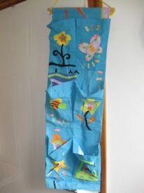 BABY SHOE & TOY ORGANISER for hanging in bedroom