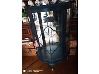 Recycled gin cabinet