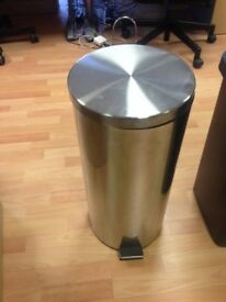Silver Kitchen/ Office Bin