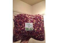 Dried petal wedding confetti 500g