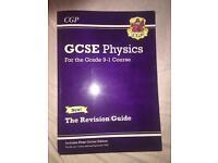 GCSE PHYSICS revision guide grade 9-1 course
