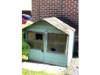 Children's playhouse in need of some TLC